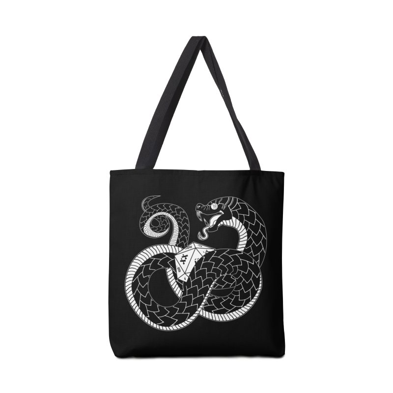 D20 Serpent Accessories Bag by Max Marcil Shop