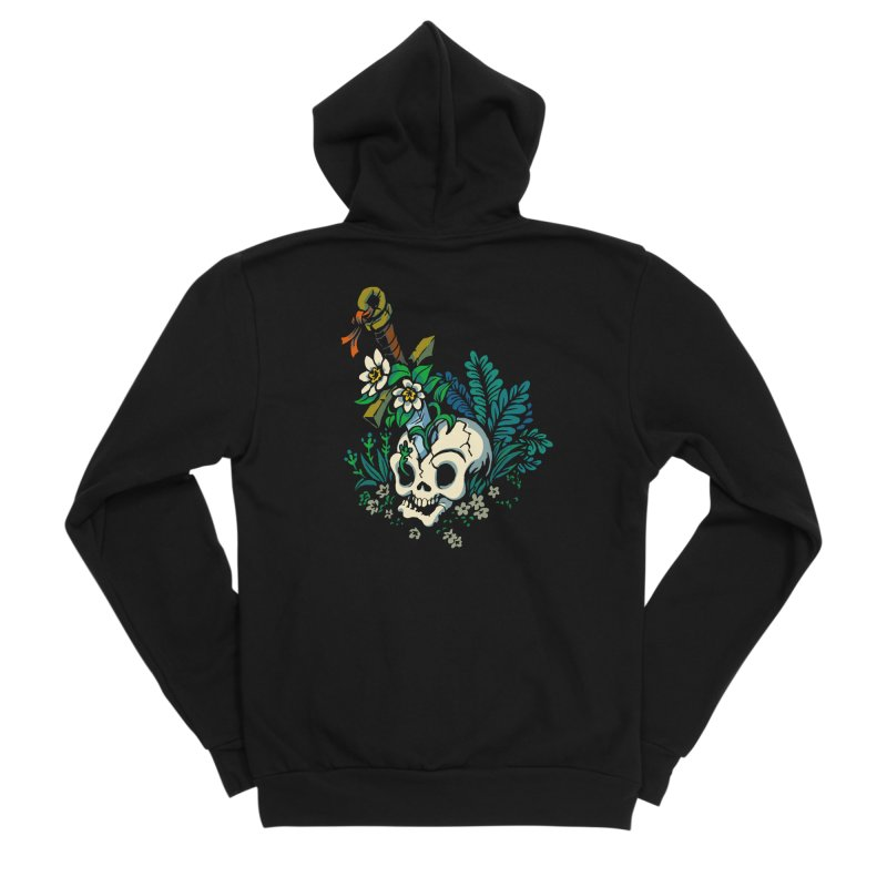 Slain Women's Sponge Fleece Zip-Up Hoody by Max Marcil Design & Illustration Shop