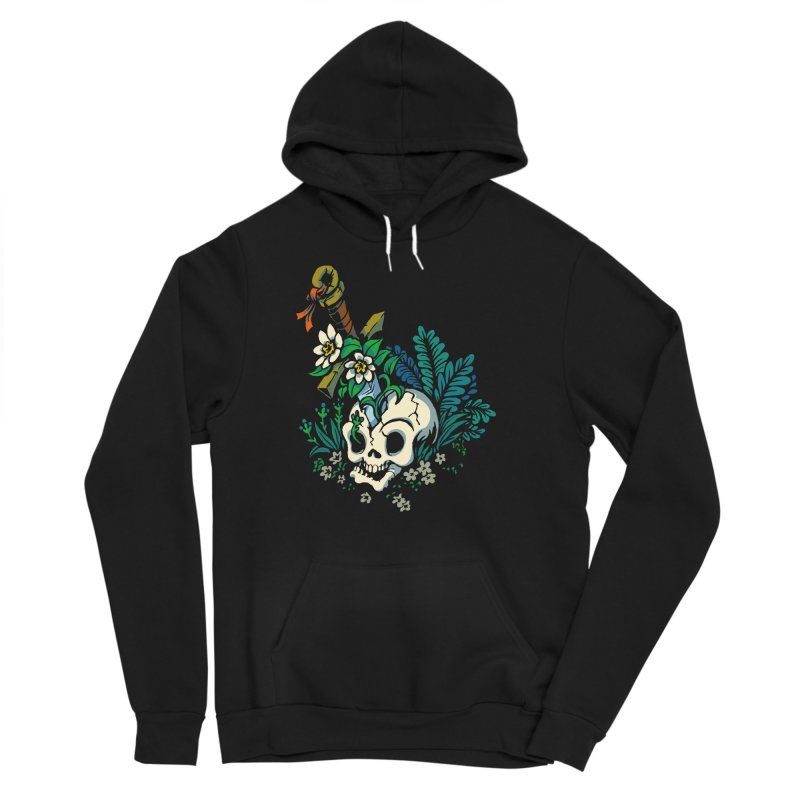 Slain Women's Sponge Fleece Pullover Hoody by Max Marcil Design & Illustration Shop