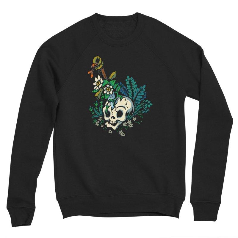 Slain Men's Sponge Fleece Sweatshirt by Max Marcil Shop