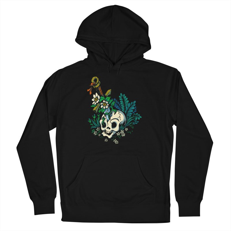Slain Women's French Terry Pullover Hoody by Max Marcil Design & Illustration Shop