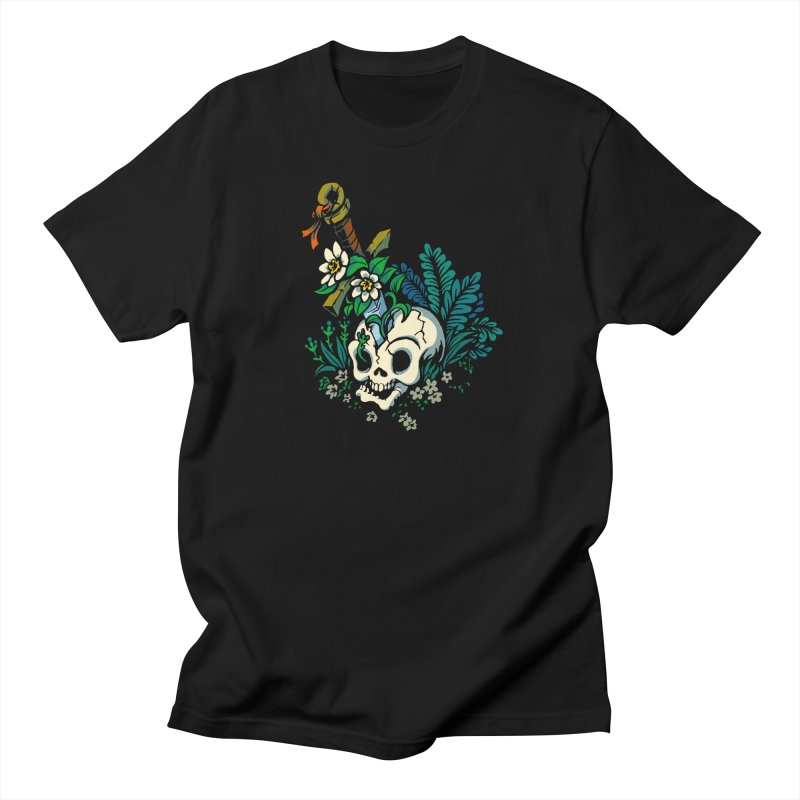 Slain Men's Regular T-Shirt by Max Marcil Design & Illustration Shop