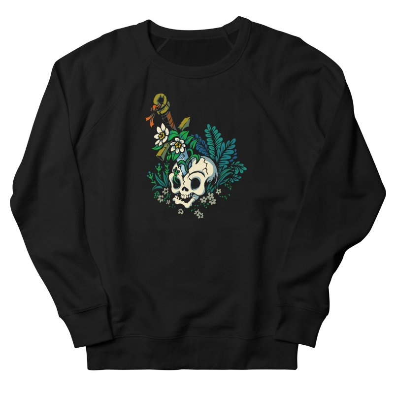 Slain Women's French Terry Sweatshirt by Max Marcil Design & Illustration Shop