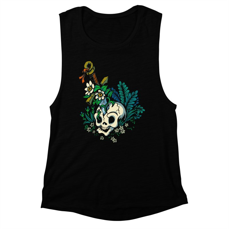 Slain Women's Muscle Tank by Max Marcil Shop