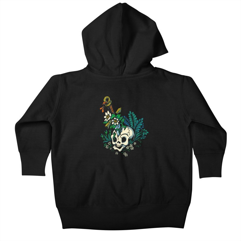 Slain Kids Baby Zip-Up Hoody by Max Marcil Shop