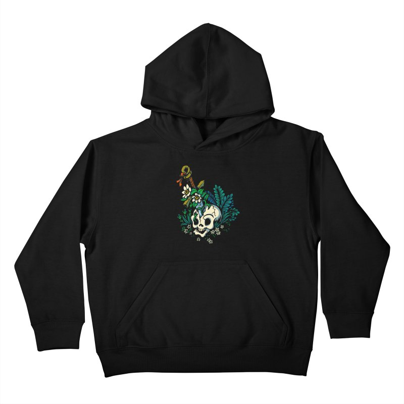 Slain Kids Pullover Hoody by Max Marcil Design & Illustration Shop