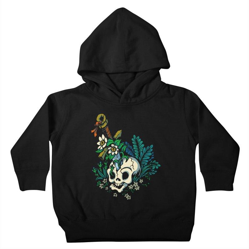 Slain Kids Toddler Pullover Hoody by Max Marcil Design & Illustration Shop