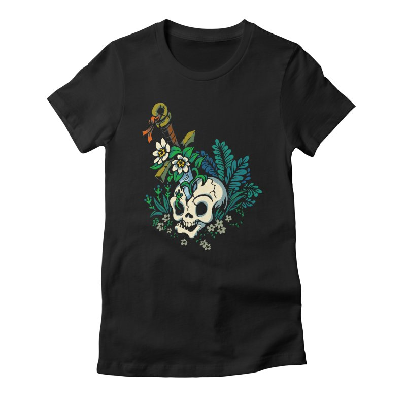 Slain Women's Fitted T-Shirt by Max Marcil Design & Illustration Shop