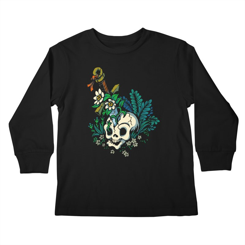 Slain Kids Longsleeve T-Shirt by Max Marcil Design & Illustration Shop