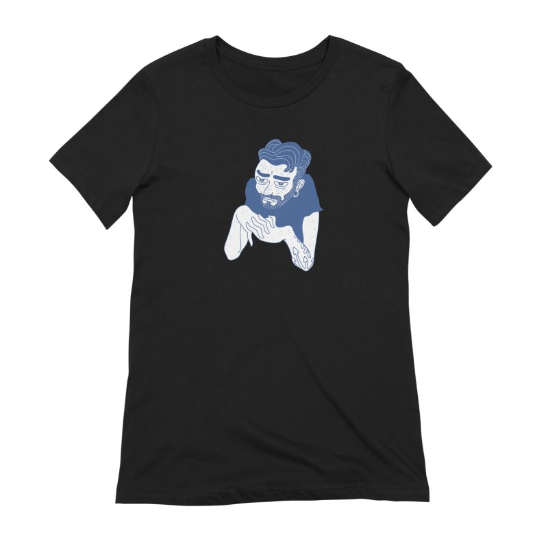 Skulk Women's Extra Soft T-Shirt by Max Marcil Design & Illustration Shop