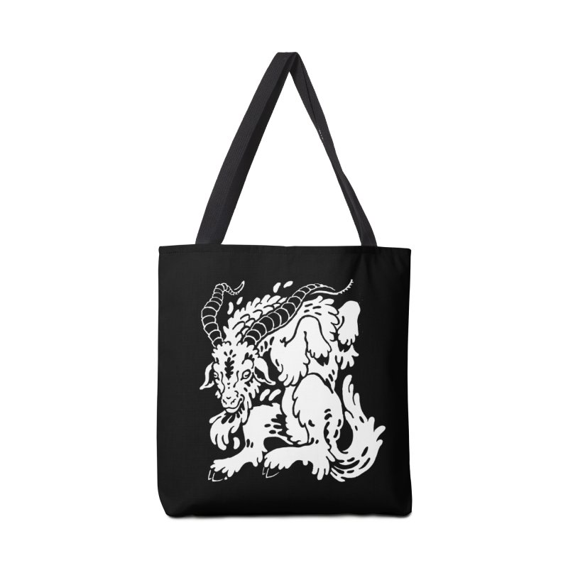 Dancing Goat Accessories Tote Bag Bag by Max Marcil Design & Illustration Shop