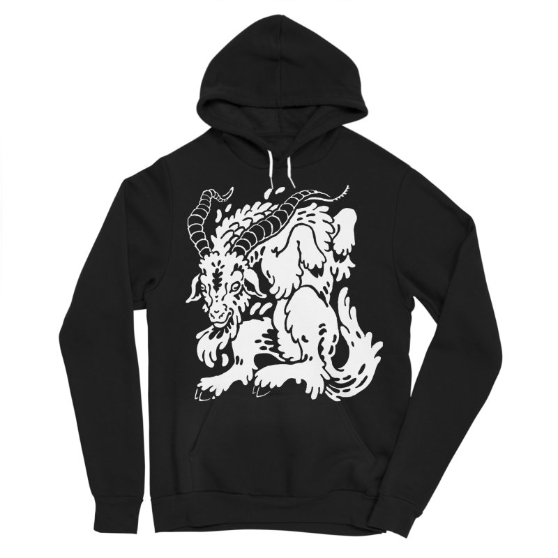 Dancing Goat Women's Pullover Hoody by Max Marcil Design & Illustration Shop