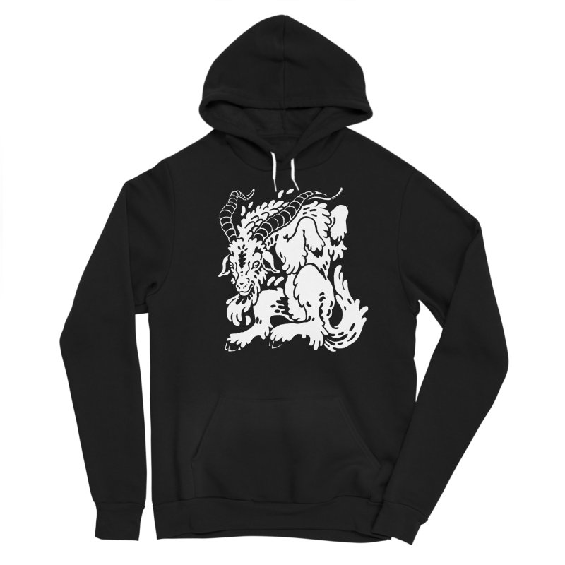 Dancing Goat Femme Pullover Hoody by Max Marcil Shop