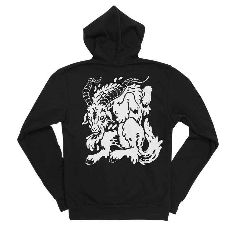 Dancing Goat Everyone Zip-Up Hoody by Max Marcil Shop