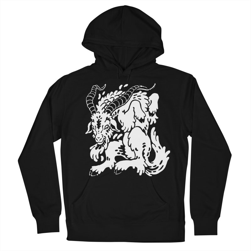 Dancing Goat Men's French Terry Pullover Hoody by Max Marcil Shop