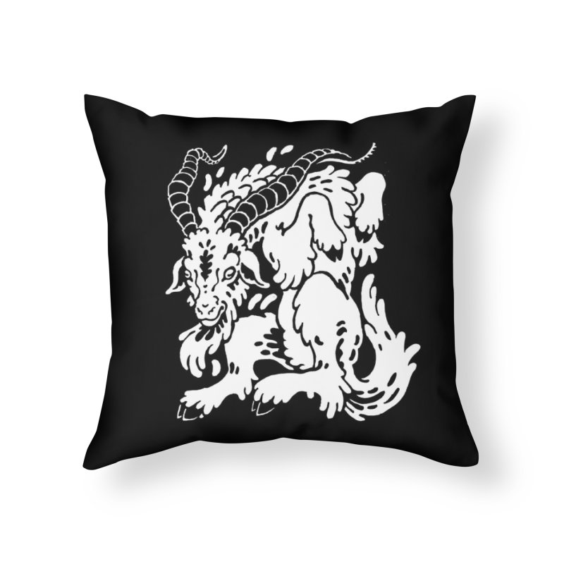 Dancing Goat Home Throw Pillow by Max Marcil Shop