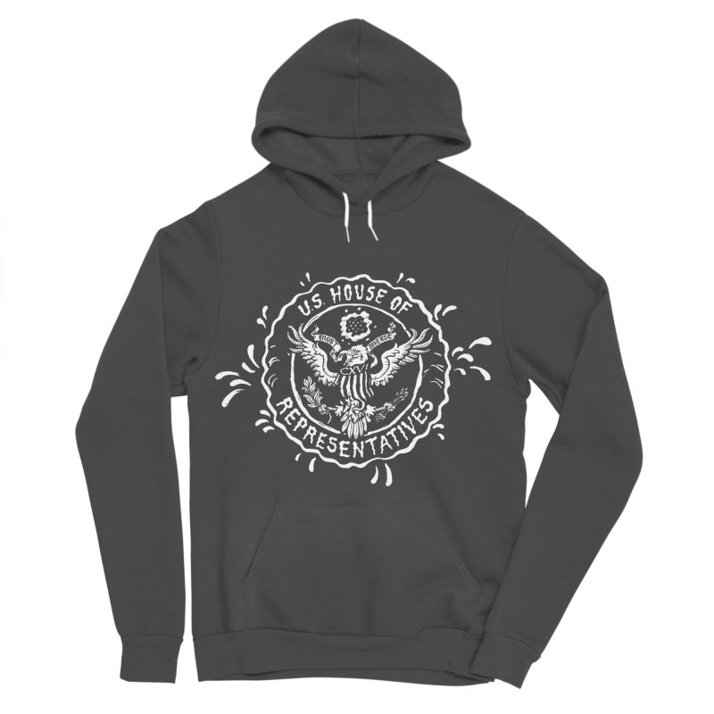 Most Diverse House of Reps Women's Sponge Fleece Pullover Hoody by Max Marcil Design & Illustration Shop