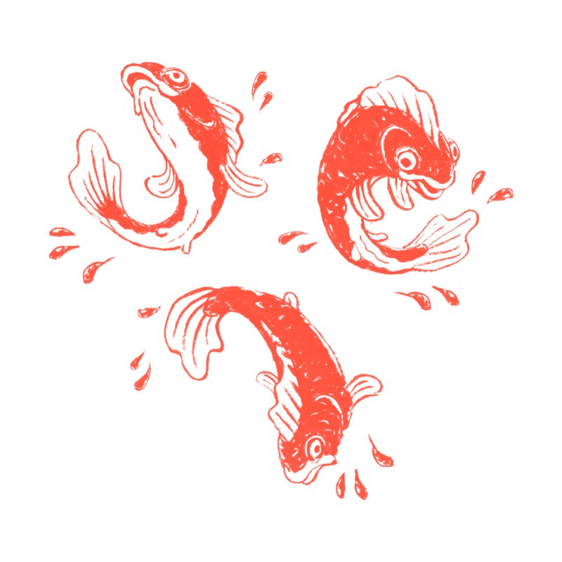 Fishes Three Accessories Sticker by Max Marcil Shop