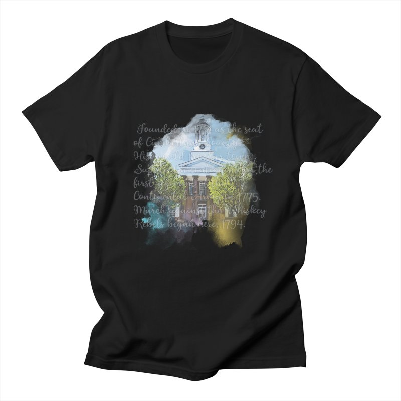 The Old Courthouse (Watercolor) Men's T-Shirt by MaximumCarlisle Souvenirs