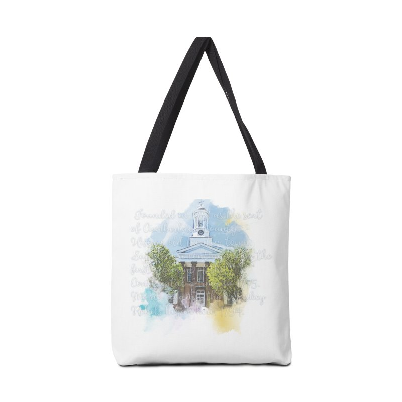 The Old Courthouse (Watercolor) Accessories Bag by MaximumCarlisle Souvenirs