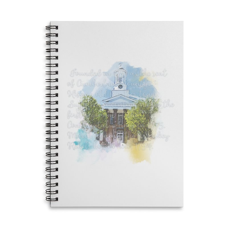 The Old Courthouse (Watercolor) Accessories Notebook by MaximumCarlisle Souvenirs