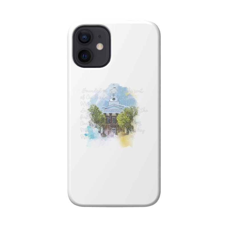 The Old Courthouse (Watercolor) Accessories Phone Case by MaximumCarlisle Souvenirs
