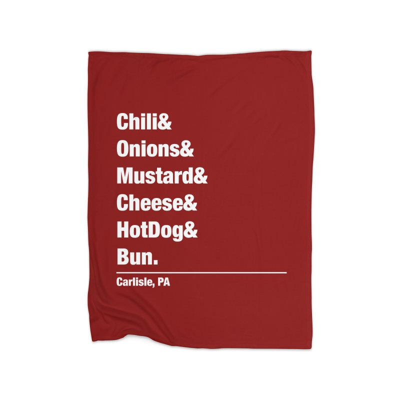 Hot(chee) Dog! Home Blanket by MaximumCarlisle Souvenirs