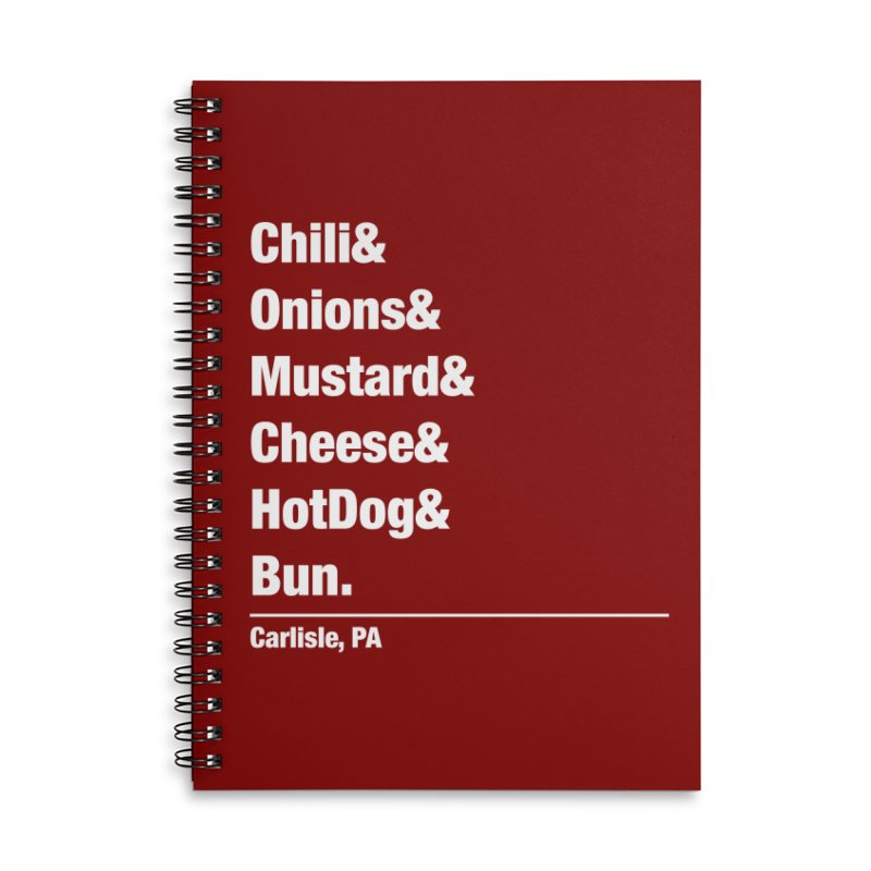 Hot(chee) Dog! Accessories Notebook by MaximumCarlisle Souvenirs