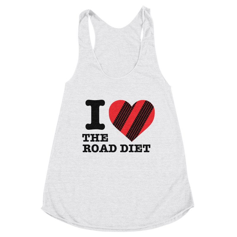 I <3 The Road Diet (or do I?) Women's Tank by MaximumCarlisle Souvenirs