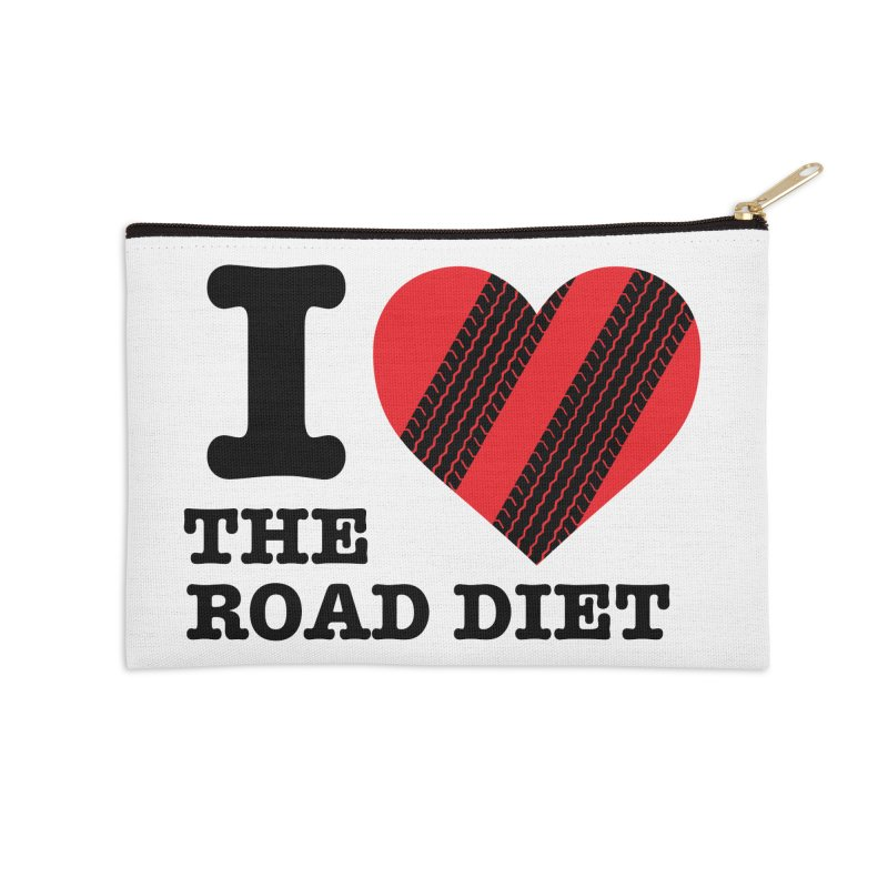 I <3 The Road Diet (or do I?) Accessories Zip Pouch by MaximumCarlisle Souvenirs