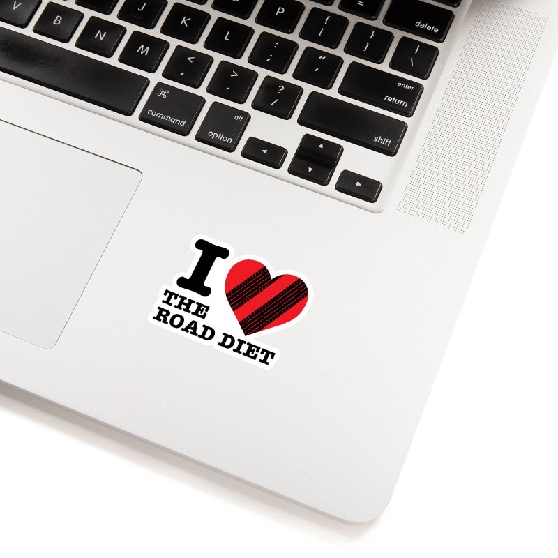 I <3 The Road Diet (or do I?) Accessories Sticker by MaximumCarlisle Souvenirs