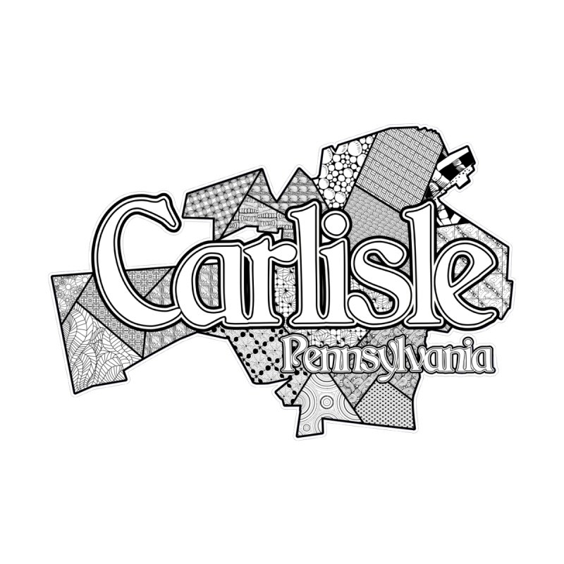 Carlisle (Doodle) Men's T-Shirt by MaximumCarlisle Souvenirs