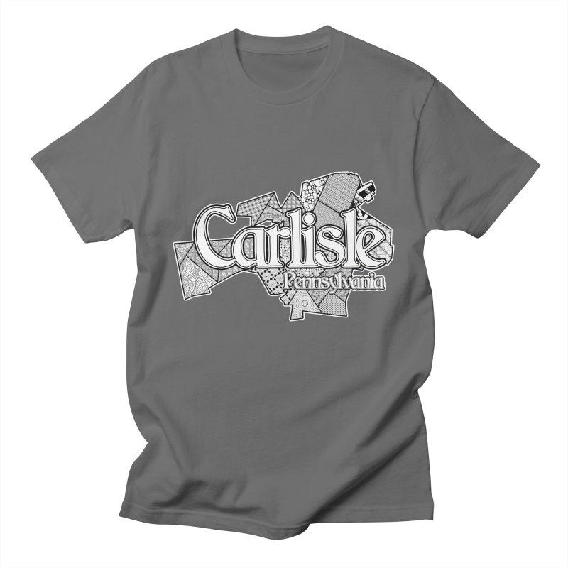 Carlisle (Doodle) Men's T-Shirt by MaximumCarlisle