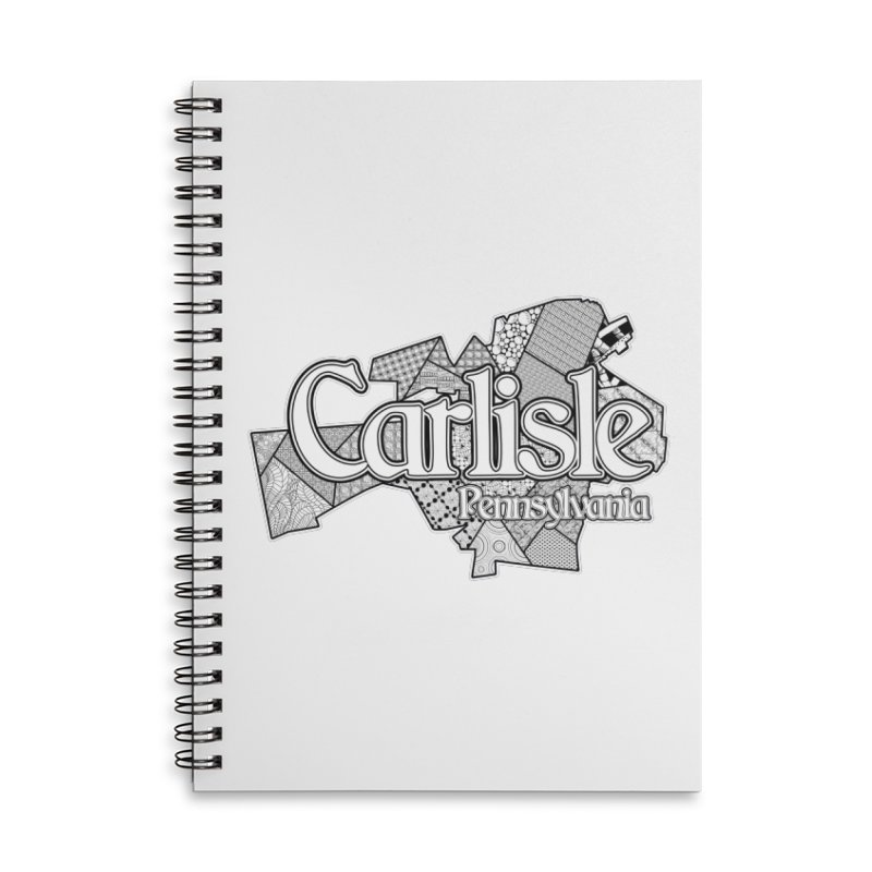 Carlisle (Doodle) Accessories Notebook by MaximumCarlisle
