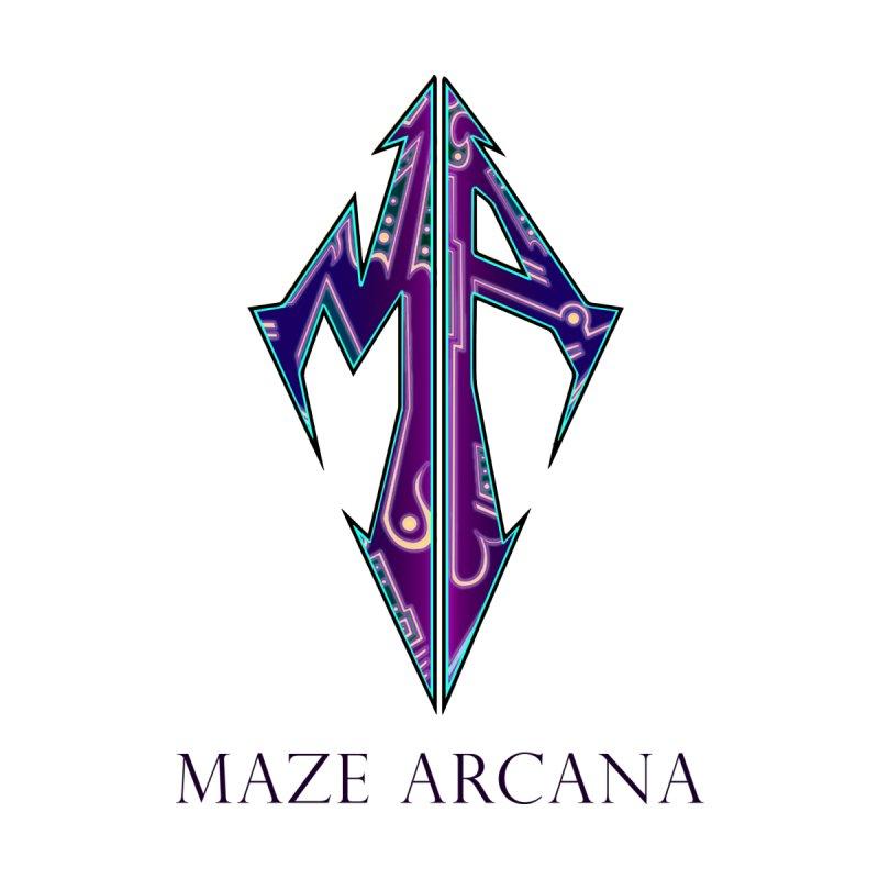Maze Arcana logo and name   by Maze Arcana Shop