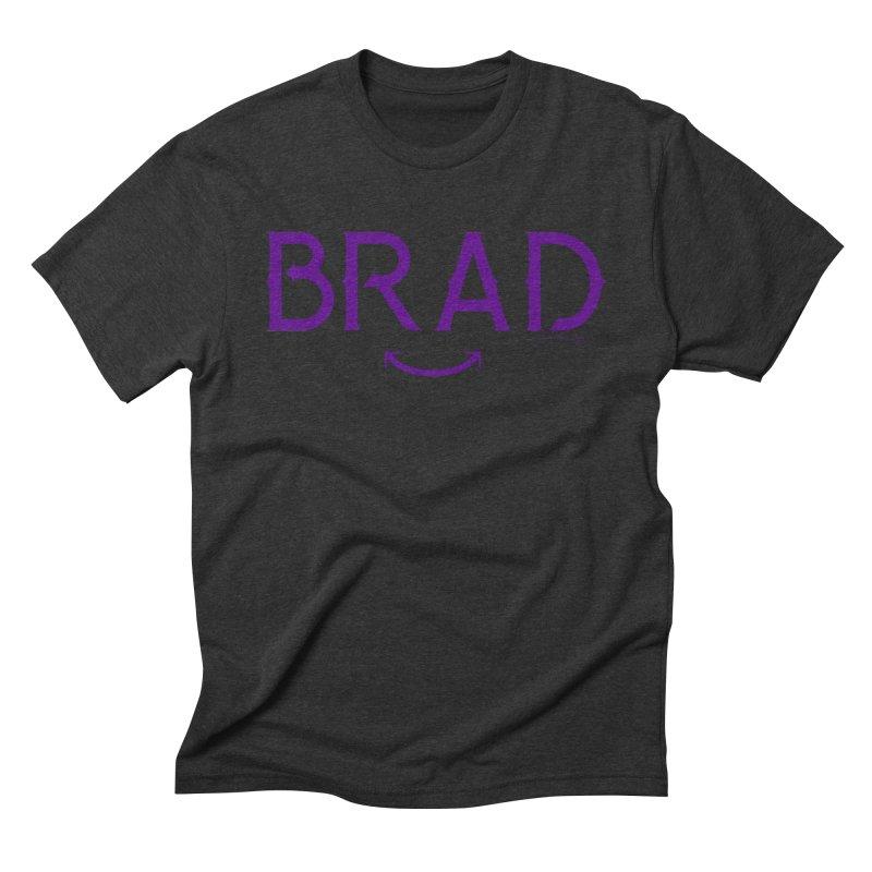BRAD BARD - PURPLE Men's Triblend T-Shirt by Maze Arcana Shop