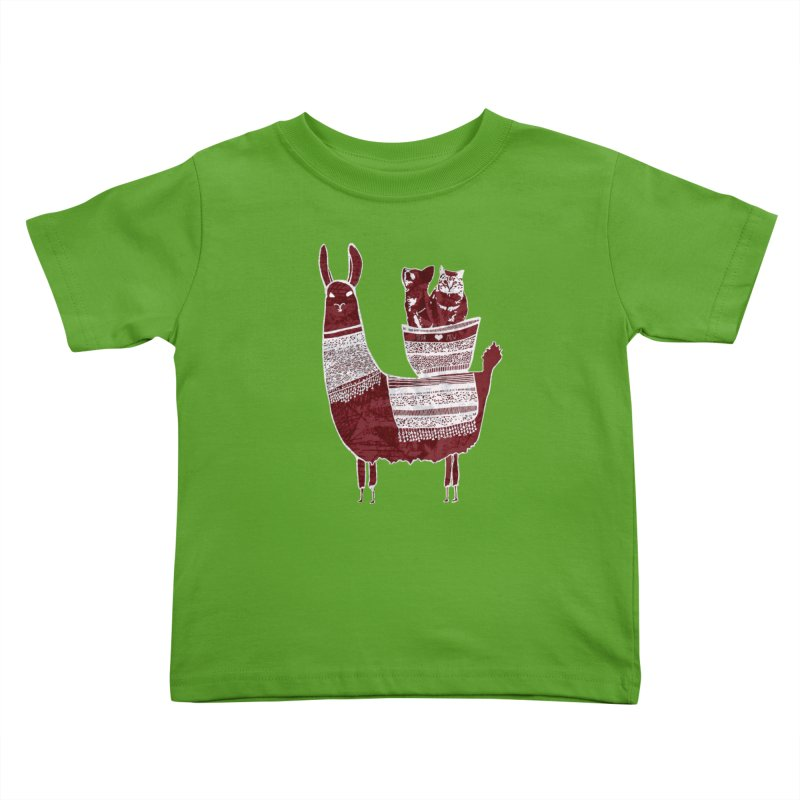 Mew and Bear BFFs Kids Toddler T-Shirt by MCGILSKY DESIGN SHOP
