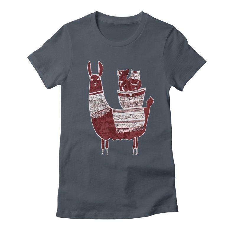 Mew and Bear BFFs Women's T-Shirt by MCGILSKY DESIGN SHOP