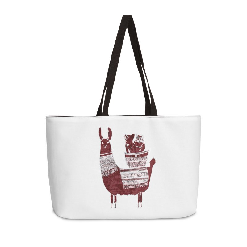 Mew and Bear BFFs Accessories Bag by MCGILSKY DESIGN SHOP