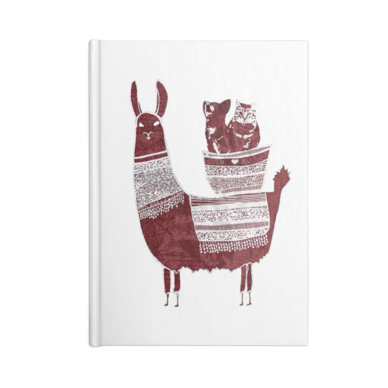 Mew and Bear BFFs Accessories Notebook by MCGILSKY DESIGN SHOP