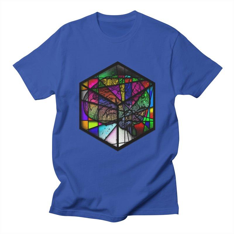 Brain Cube Men's T-Shirt by MCGILSKY DESIGN SHOP