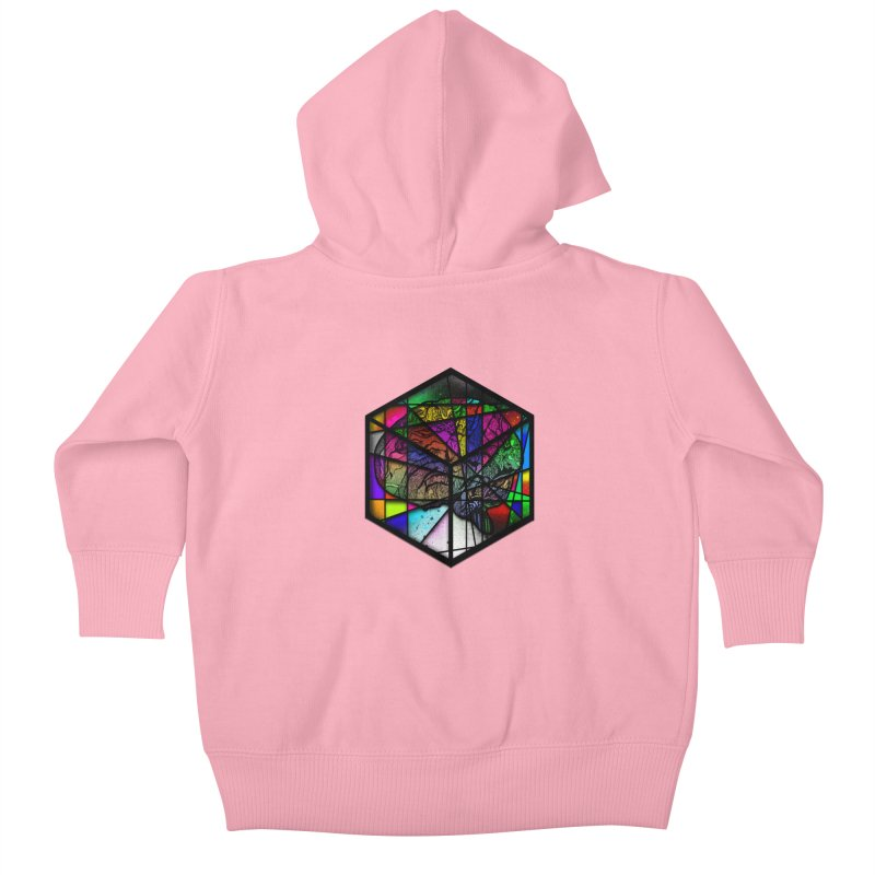 Brain Cube Kids Baby Zip-Up Hoody by MCGILSKY DESIGN SHOP