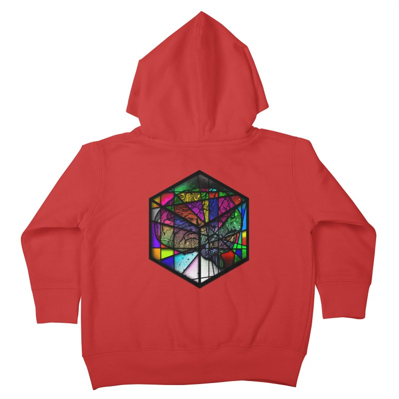 Brain Cube Kids Toddler Zip-Up Hoody by MCGILSKY DESIGN SHOP