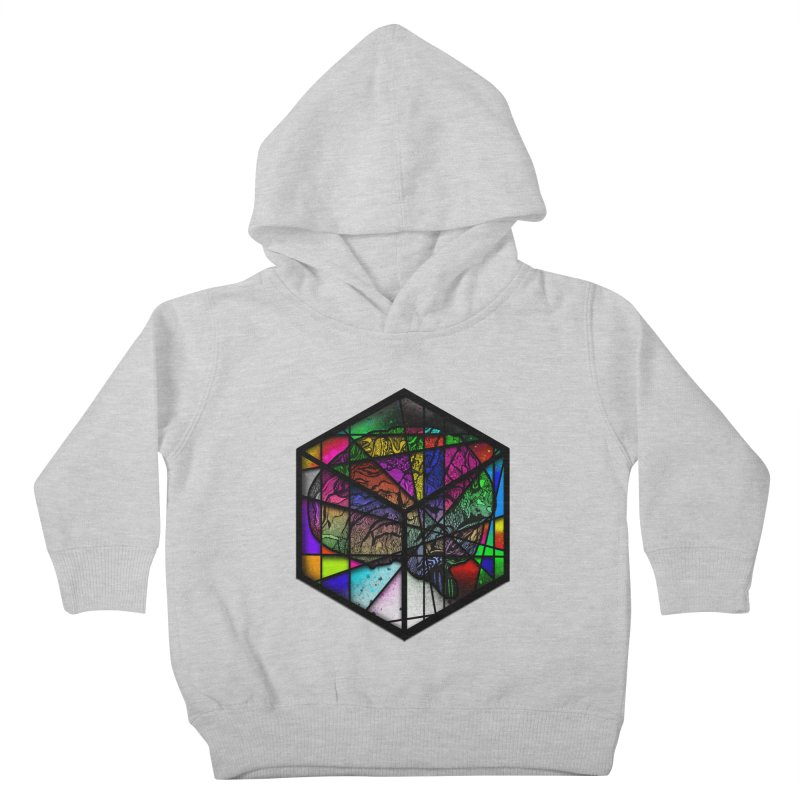 Brain Cube Kids Toddler Pullover Hoody by MCGILSKY DESIGN SHOP