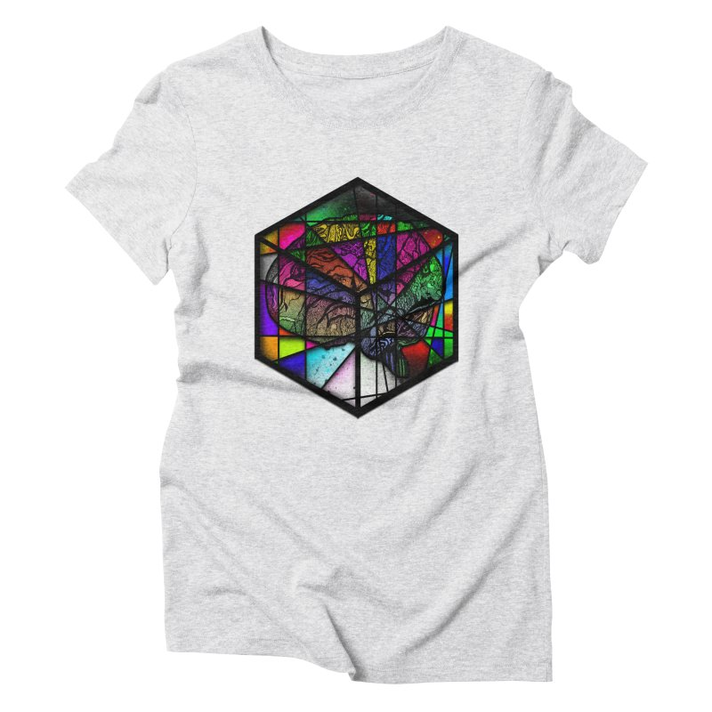 Brain Cube Women's T-Shirt by MCGILSKY DESIGN SHOP