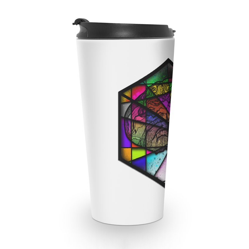 Brain Cube Accessories Mug by MCGILSKY DESIGN SHOP