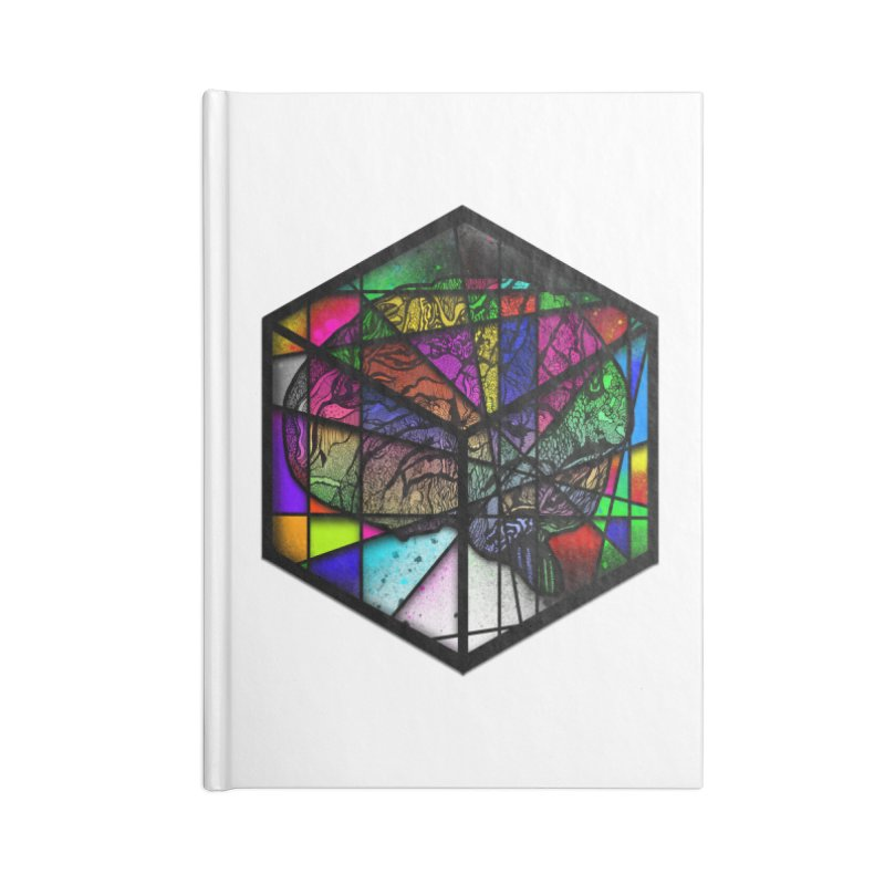 Brain Cube Accessories Notebook by MCGILSKY DESIGN SHOP