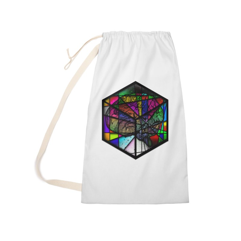 Brain Cube Accessories Bag by MCGILSKY DESIGN SHOP
