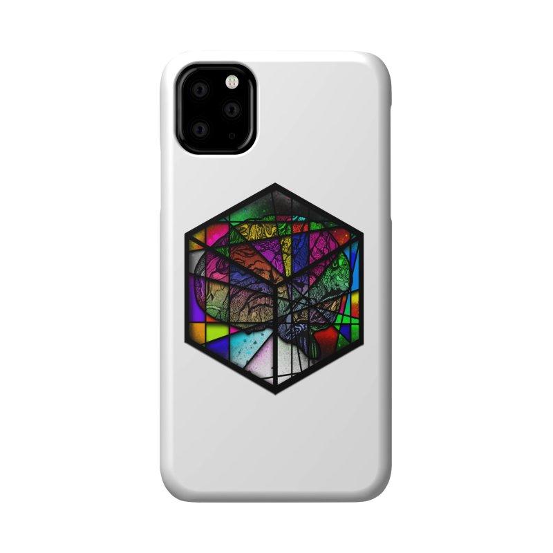 Brain Cube Accessories Phone Case by MCGILSKY DESIGN SHOP