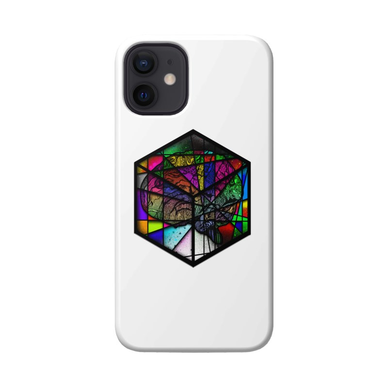 Brain Cube Accessories Phone Case by MCGILSKY DESIGN SHOP